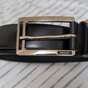 Prada black belt